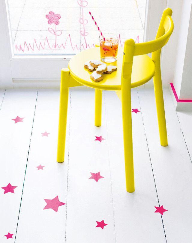 Sterrenvloer - 101 Woonideeën, leuk voor op de vloer in een hoekje of rond een tafeltje