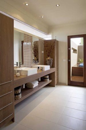 Denver bathroom, metricon homes