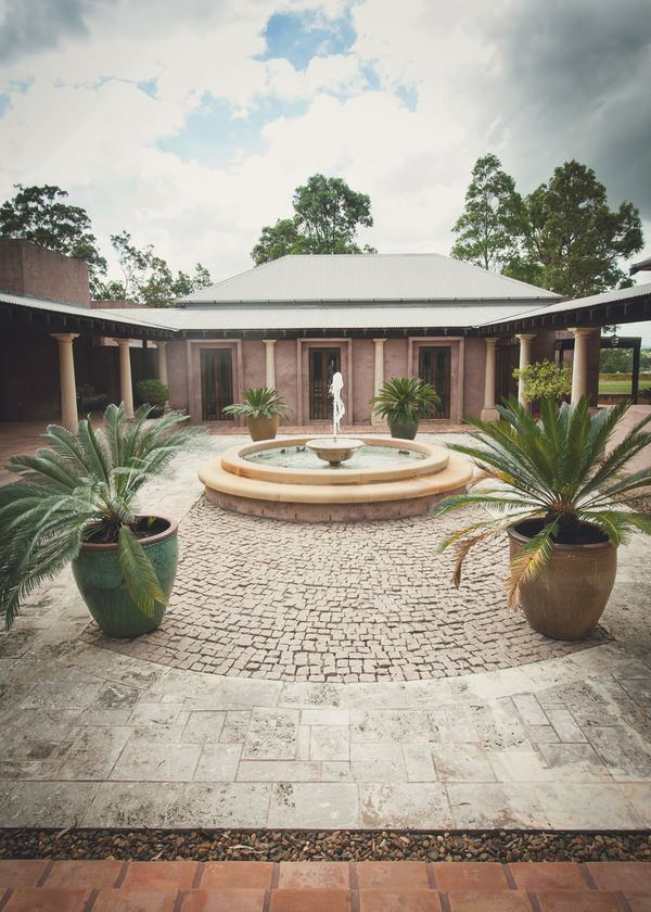 Tower Lodge in the Hunter Valley wine region of Australia.