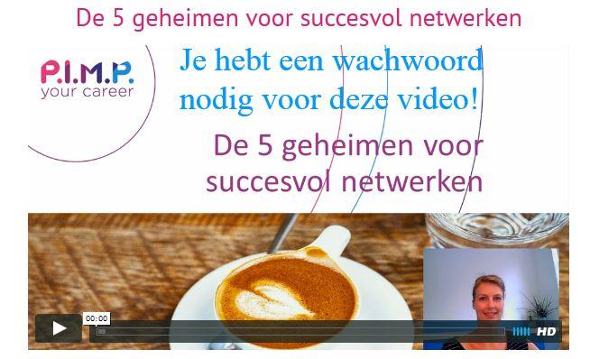 De 5 geheimen voor succesvol netwerken > vraag hier het wachtwoord aan: https://www.e-act.nl/ah/site?a=2049&p=147840
