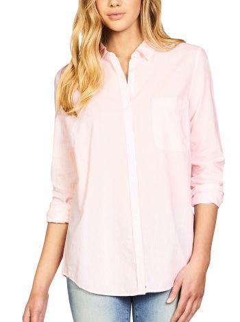 Mavi Michaela Mink White Stripe Shirt
