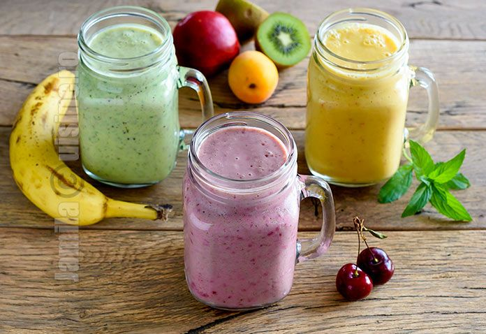 Smoothie de fructe – reteta video via @JamilaCuisine