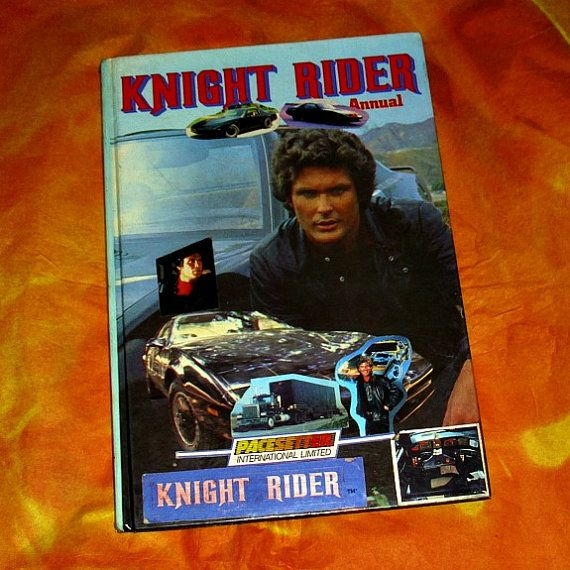 Knight Rider Official Annual TV Memorabilia by WelshGoatVintage