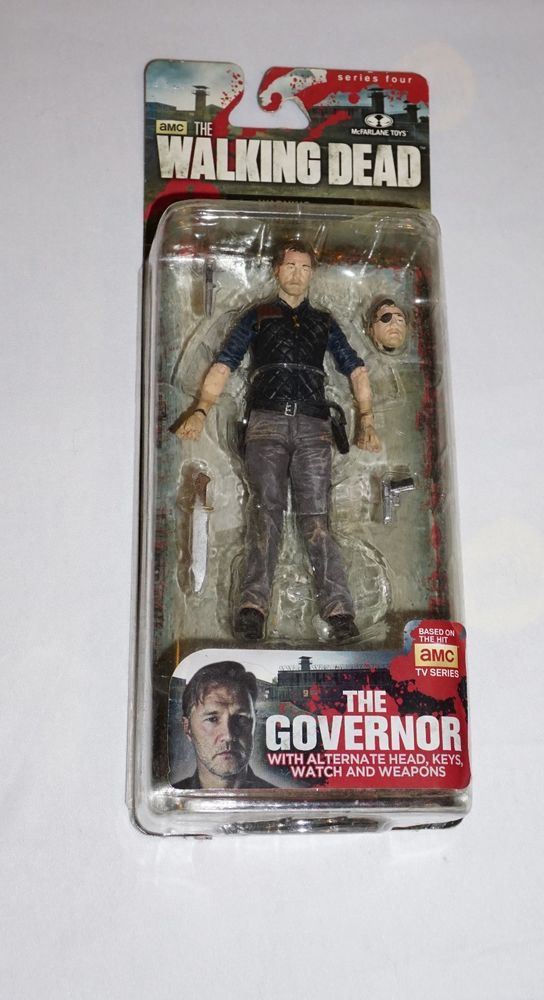 The Governor, AMC, The Walking Dead, SEALED Action Figure, NEW #McFarlaneToys