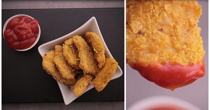 Hausgemachte Chicken Nuggets - nie waren Nuggets SO lecker!