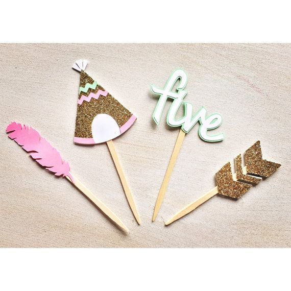 Hey, I found this really awesome Etsy listing at https://www.etsy.com/listing/254348605/aztec-birthday-cupcake-topper-tribal