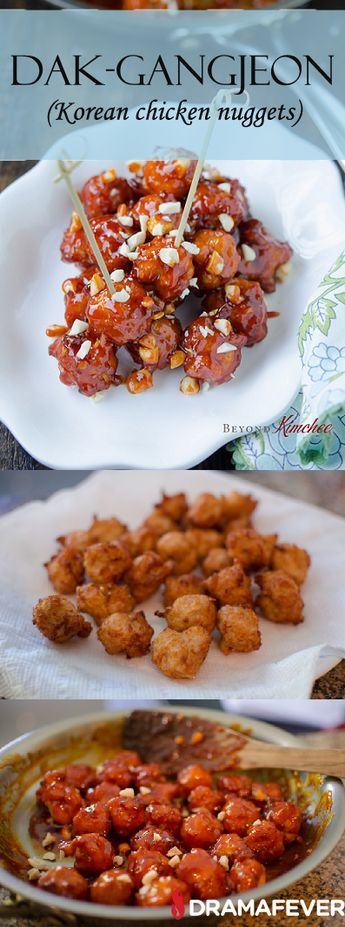 How to make Dak-gangjeon, deliciously crispy and spicy Korean chicken nuggets