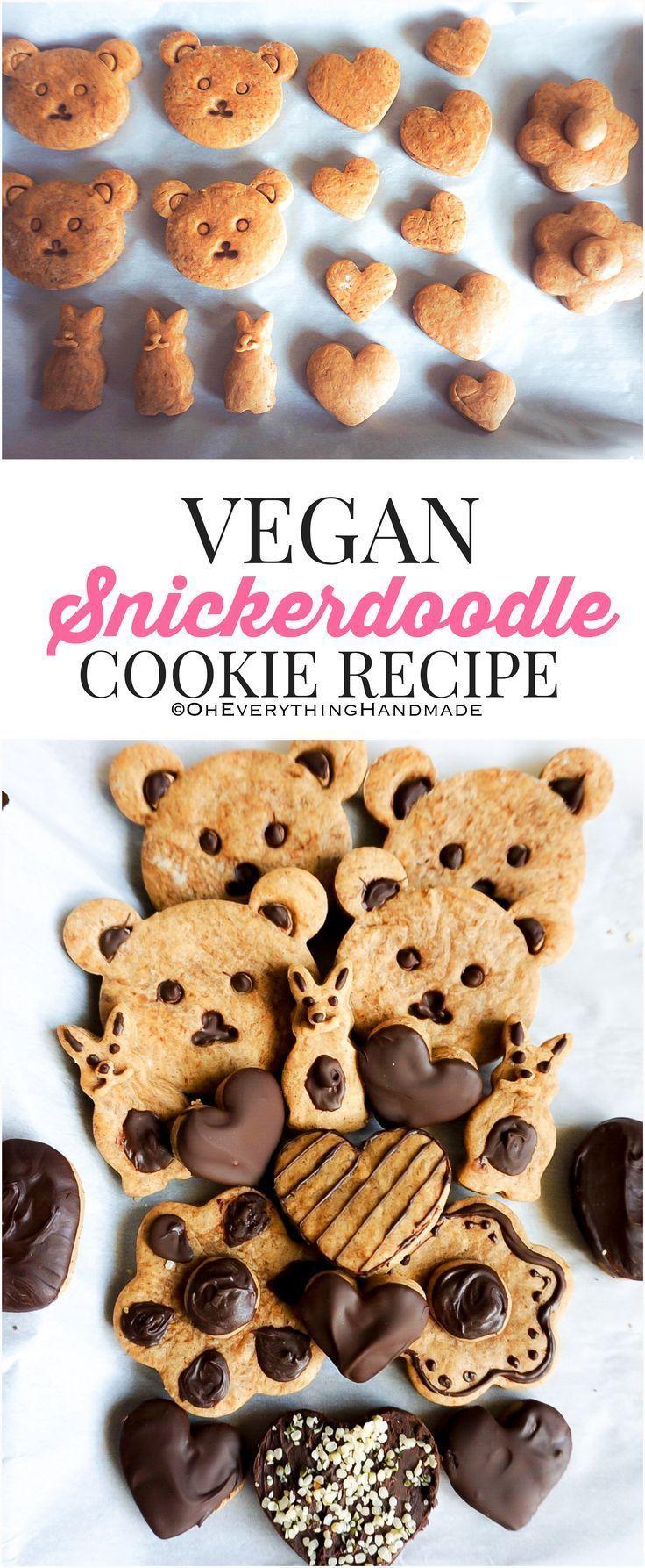 Vegane Snickerdoodle Kekse
