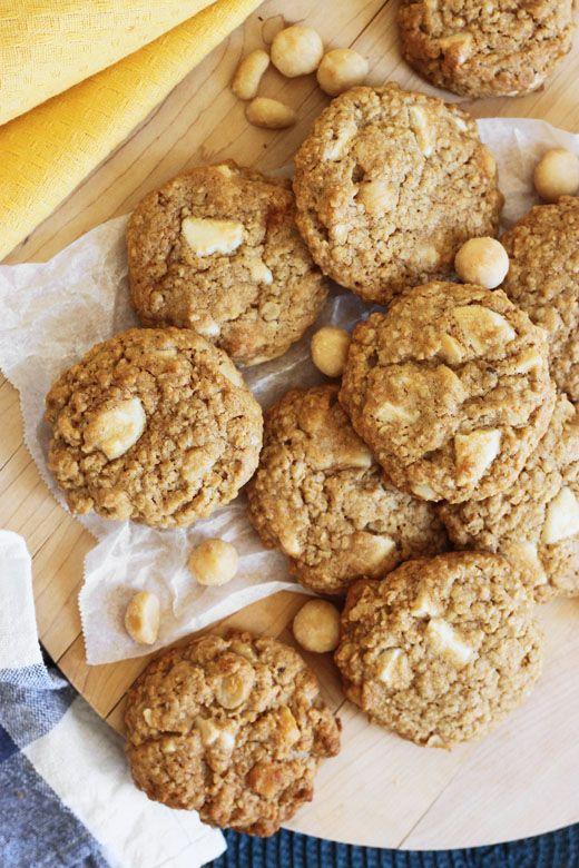 White Chocolate And Macadamia Cookies Donna Hay