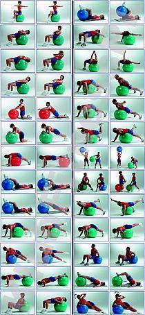 ćwiczenia z piłką - idealny sposób na ładny brzuch | Su… na Stylowi.pl