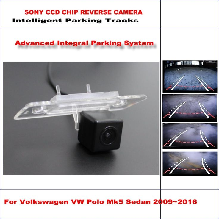 65.00$  Watch here - http://alikqd.shopchina.info/go.php?t=32793039070 - Dynamic Guidance Rear Camera For Volkswagen VW Polo Mk5 Sedan 2009~2016 580 TV Lines HD 860 * 576 Pixels Parking Intelligentized 65.00$ #buymethat