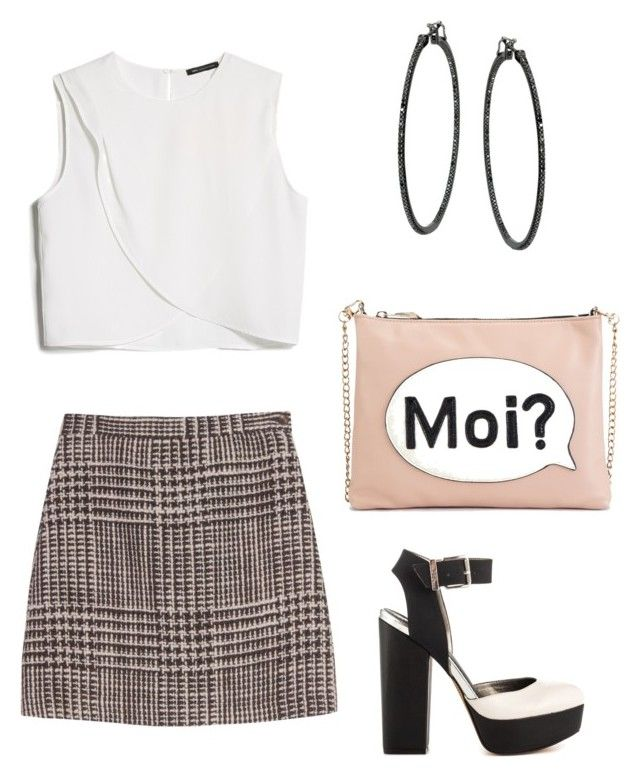 """Untitled #722"" by mchlap on Polyvore featuring MANGO, Missoni, Circus by Sam Edelman and M&S"