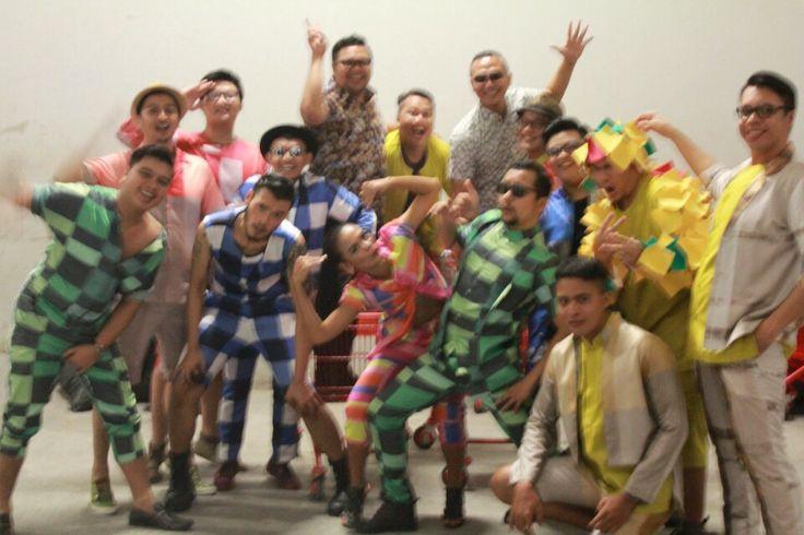 ROCKINC Man Fashion Runway 2014 feat. 13 loyal customers. Real people real walk real personality  #bigboyLOOKSGOOD