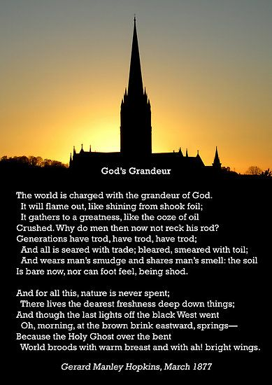 Guys, this was the poem I kept trying to tell you about in Ireland. Hopkins