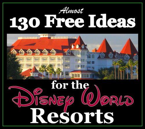 Almost 130 FREE Walt Disney World Resort Activities! (vacation planning article)