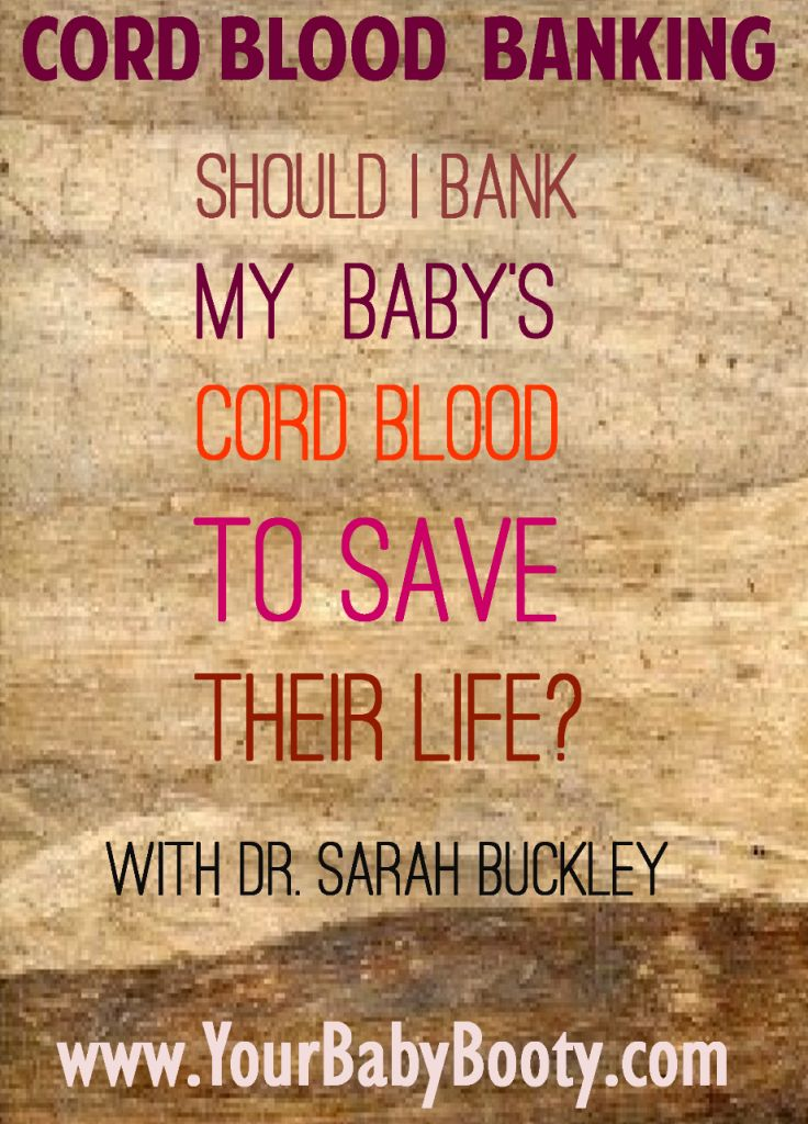 blood banking Banking your child's cord blood means you'll have access to it for future treatments cord blood banking can give you peace of mind and security.