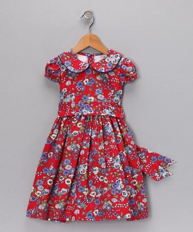 J adore red dress infant