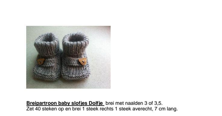 Breipartroon baby slofjes Dolfje.pdf