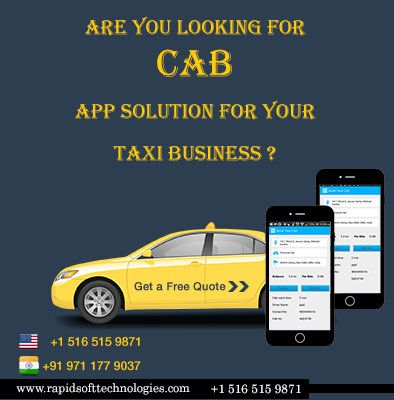 Are You Looking For Cab App solution for your TAXI Business   Best Mobile Application World