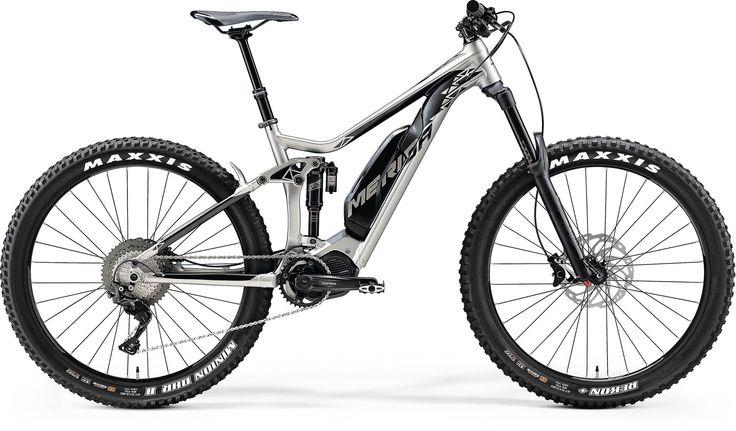 silk titanium/black (E-Bikes - Performance Fullies)