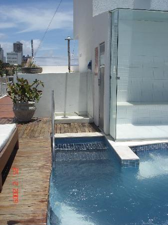 Vip Praia Hotel Natal: Sauna à vapor.