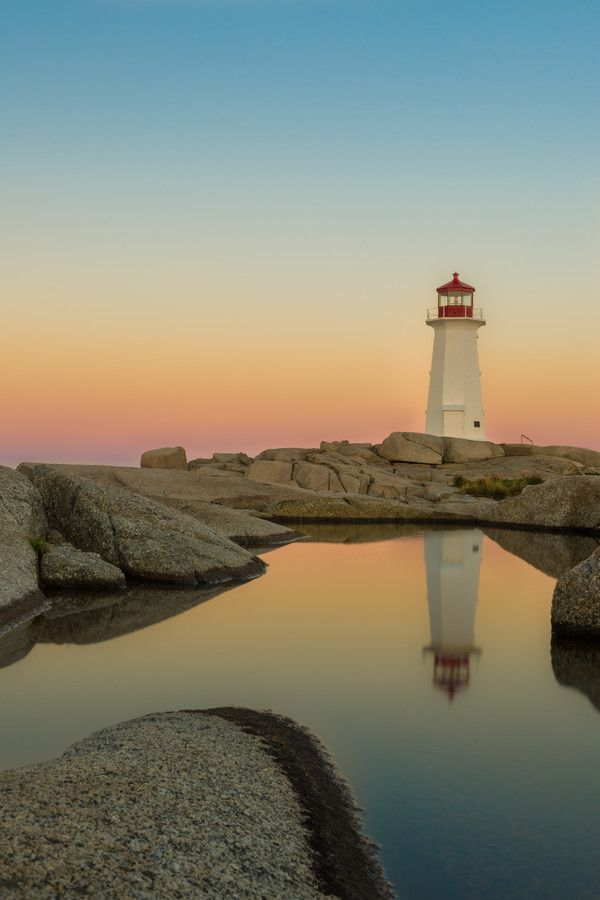 Peggy's Cove, Nova Scotia, Canada by Claude Chauvin on 500px