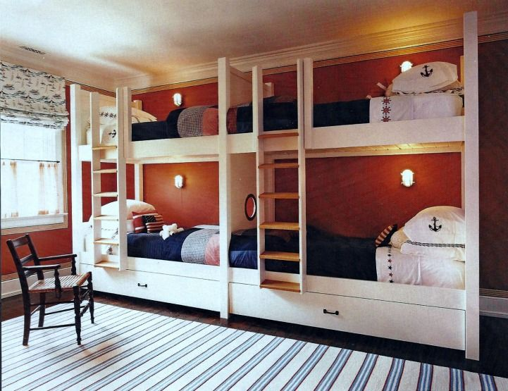 Bunk Bed Rooms 20 best nautical bunk room for vacation house images on pinterest