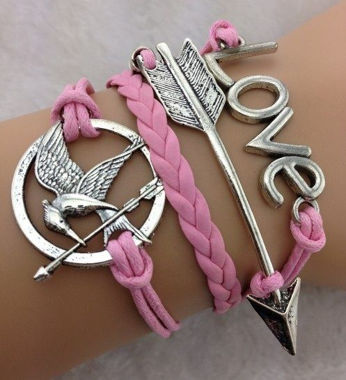 hunger games mocking jay bracelet. I know that I have this in jewelry but still it's book worthy 2