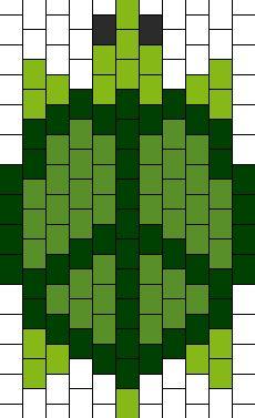 Peace Turtle bead pattern
