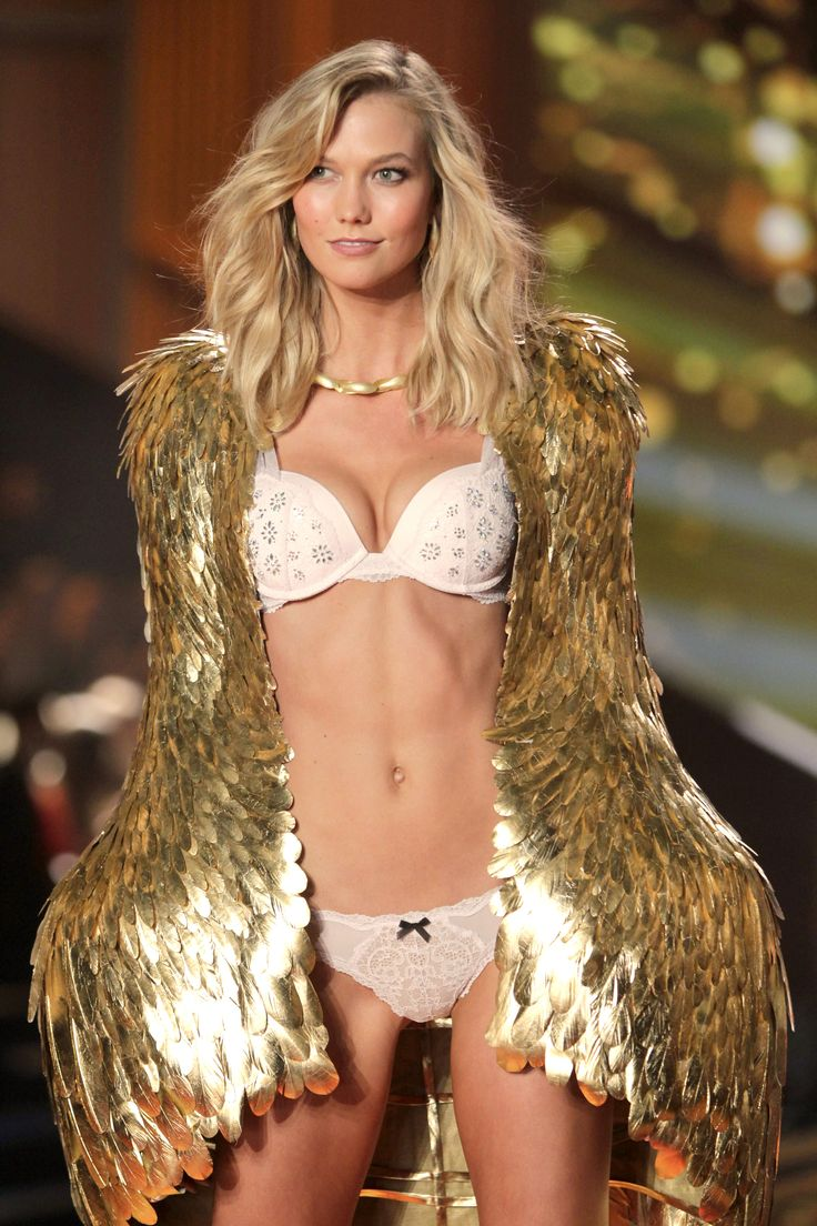 Karlie Kloss traded her angel wings for something MUCH more comfortable