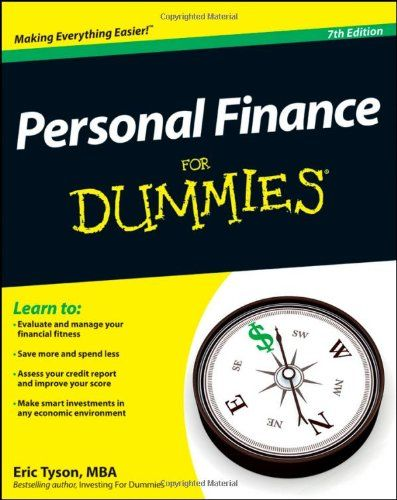 Personal Finance For Dummies by Eric Tyson http://smile.amazon.com/dp/1118117859/ref=cm_sw_r_pi_dp_bNGPub0ZJC3AH