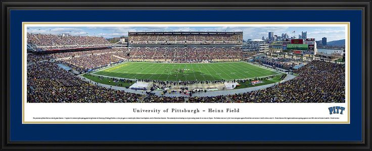 Pittsburgh Panthers Panoramic - Heinz Field Picture
