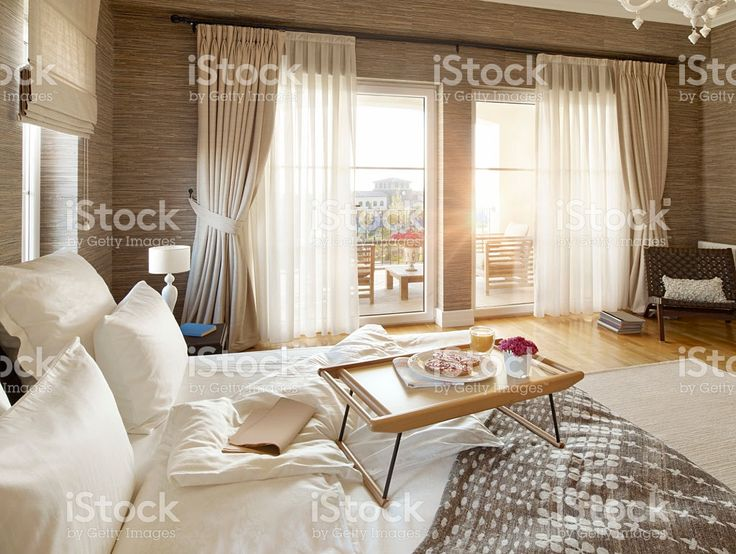 Breakfast in bed royalty-free stock photo