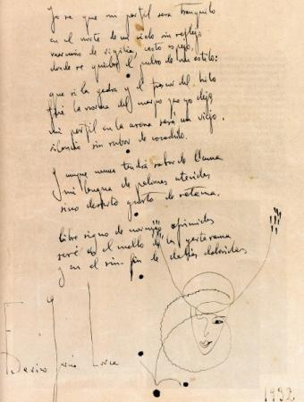 Sonnet by Federico Garcia Lorca  www.artexperiencenyc.com