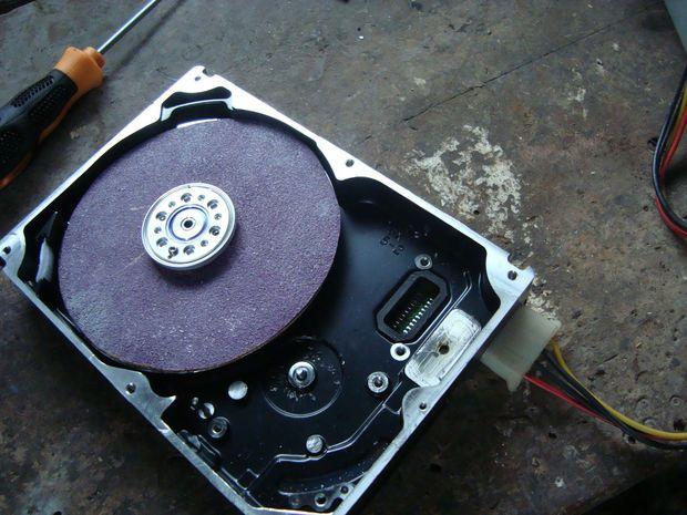 hard disk grinding machine
