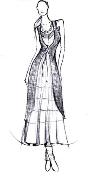 Because we love you.  Copyright © W For Woman. All rights reserved.  #w #woman #india #clothing #long #dress #kurta #sketch #indian #outfit #fashion #style #white #wear #top