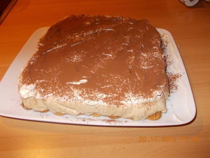 Zo Lekker!: Amarettini-cappuccinotaart (uit De Koelkast) recept | Smulweb.nl
