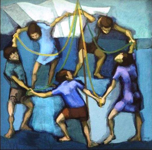 Ciranda, 1988 Glênio Bianchetti ( Brasil, 1928) acrílica sobre tela