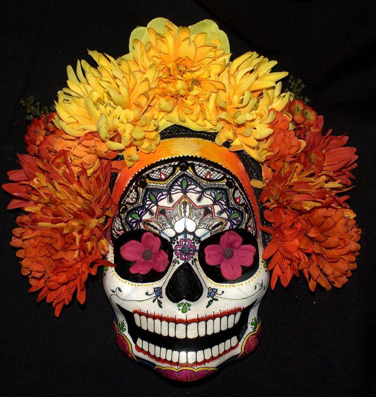 SALIDA DE LA SOL - Calavera Mask by =LilBittyFish on deviantART