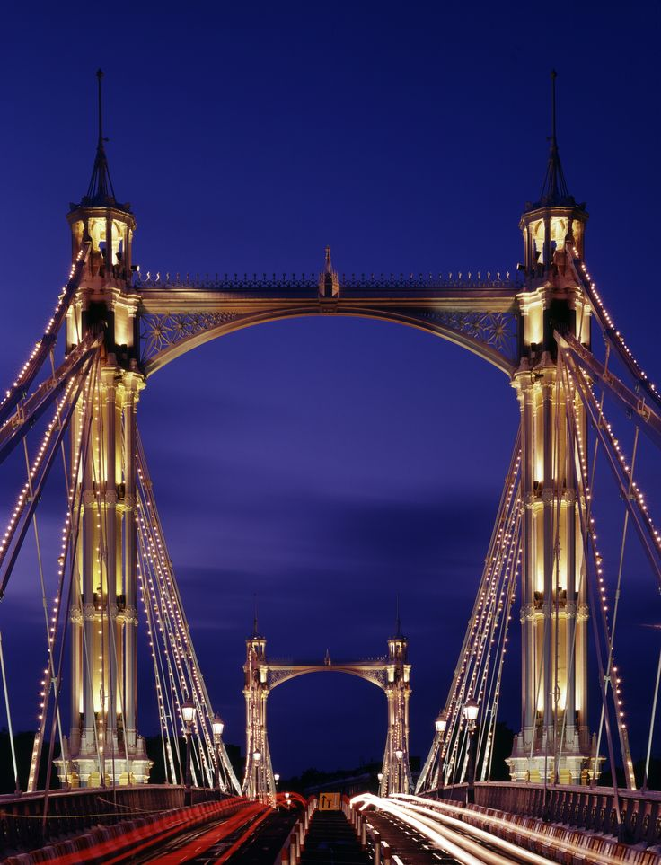 The Albert Bridge, London