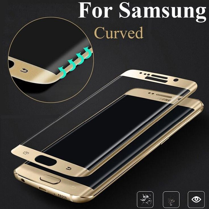 >> Click to Buy << 3D Curved Color Full Cover Tempered Glass For Samsung Galaxy S7 Edge S6 Screen Protector 4D Cover For Samsung Galaxy S8 Plus #Affiliate