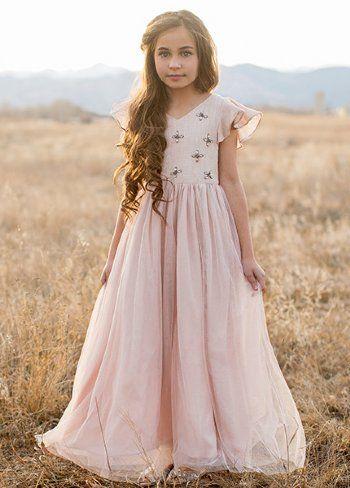 32c3e1000c0d0 Joyfolie 2018 Ophelia Dress in Blush Preorder2 to 14 Years | Fashion ...