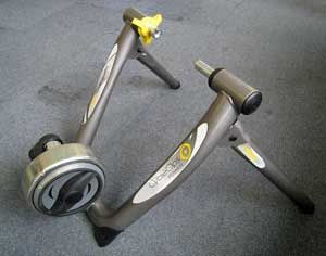 Riding the #CycleOps Magneto Indoor #BikeTrainer is the ideal choice for many cyclists which want superior performance.