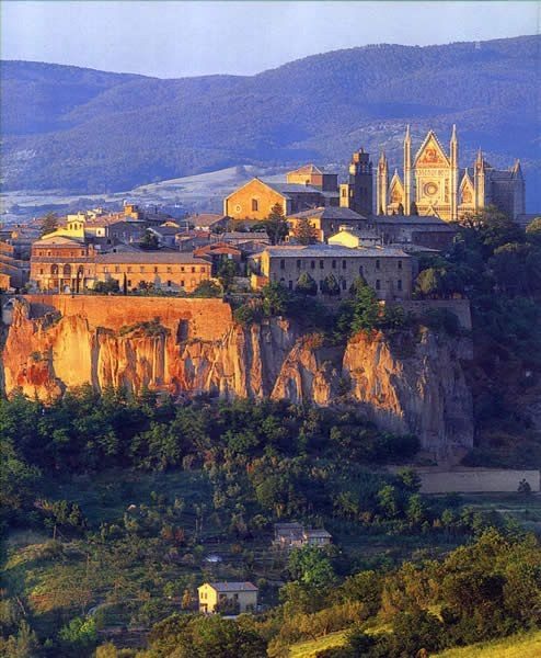 Orvieto Italy...totally un planned stay while in Italy...turned out to be one of my faves,