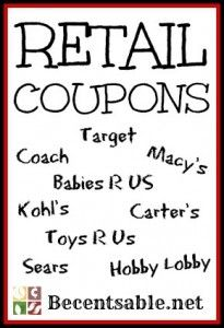 Retail Coupons: Famous Footwear, Gordmans, Kohl's, Macy's And More