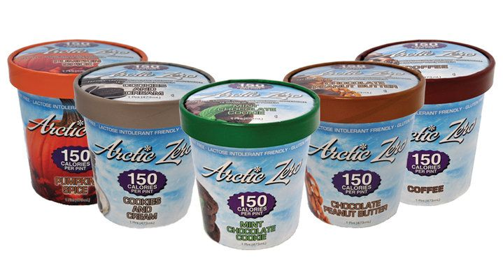 Arctic Zero Ice Cream — Eat the WHOLE Pint, Guilt Free, For Only 150 Calories