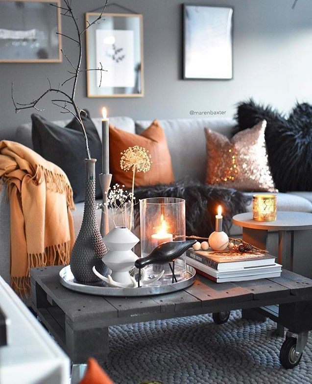 See The Best Of The Luxury Airbnbs In The World Also Know As The Most Expensive Houses For Fall Living Room Decor Fall Living Room Grey And Orange Living Room