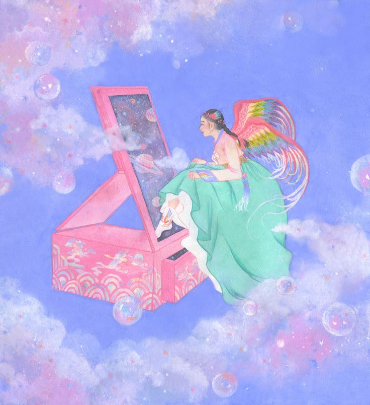 #korean painting, #hanbok, #illustration, #hyekang, #혜강, #한복, #한국화
