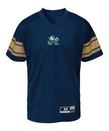 Look at this #zulilyfind! Notre Dame Fighting Irish Generation Football Jersey - Kids #zulilyfinds