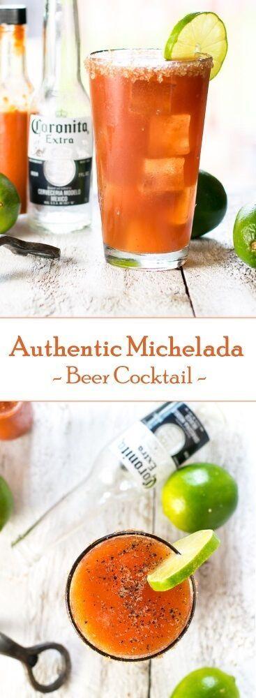 Authentic Michelada Beer Cocktail Recipe via @foxvalleyfoodie